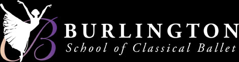 Burlington School of Classical Ballet Logo